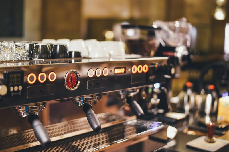 Corporate coffee system, coffee machine